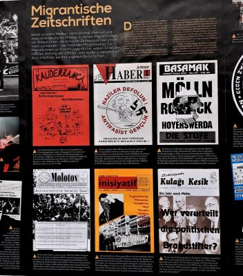 Geschichte des Migrantischen Widerstands/ Göçmenlerin direniş tarihinden bir kesit