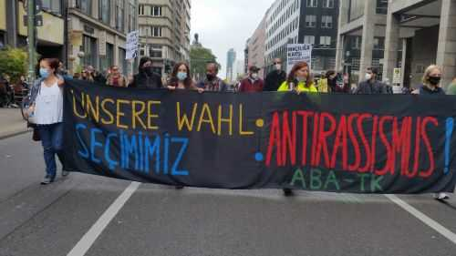4 Eylül Berlin-Unteilbar Yürüyüşü: 30 bin insan sokakta
